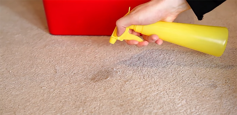 How to Remove Rust Stains from Carpet Use a solution of hydrogen peroxide and soda