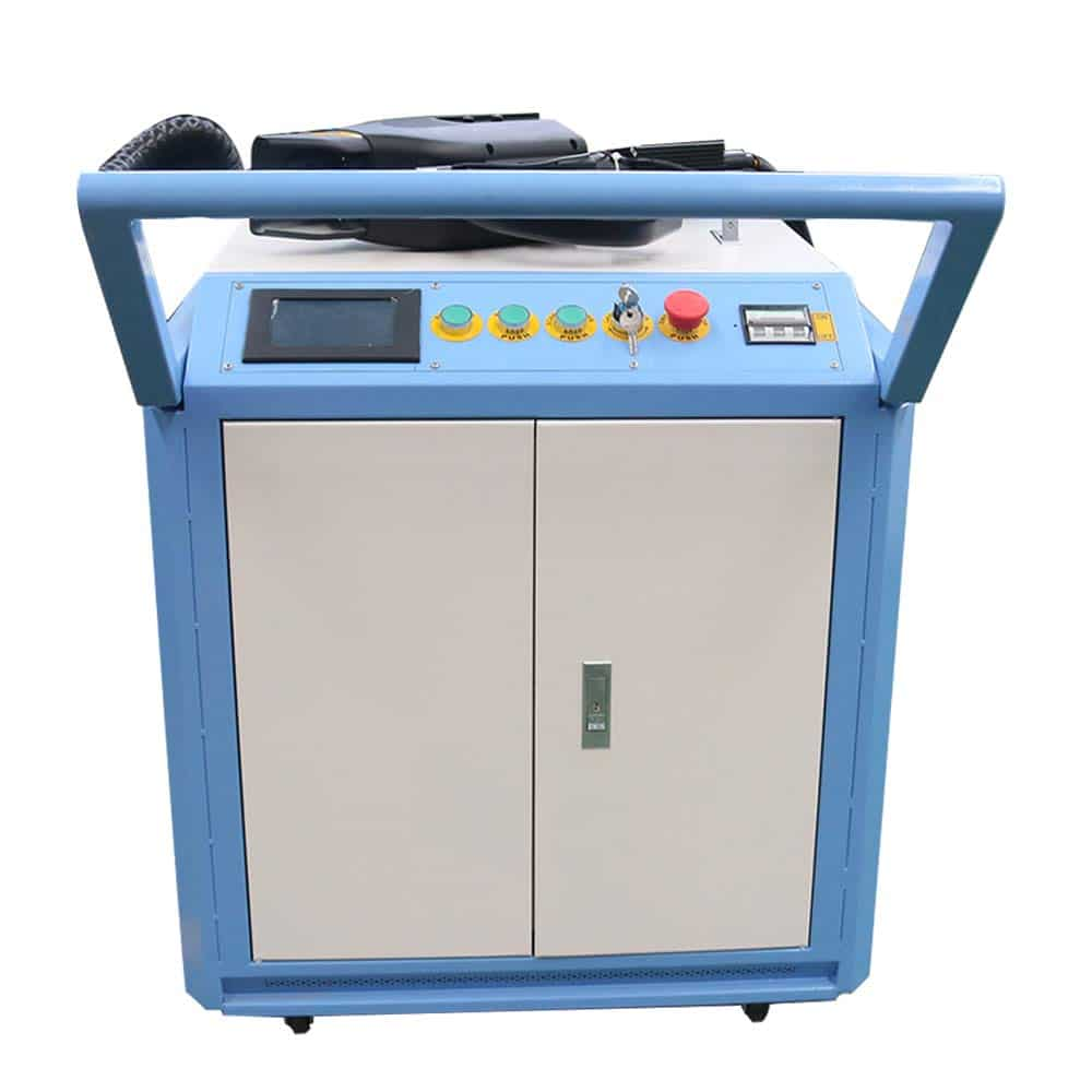 DIHORSE 50W Hand-Held Laser Cleaning Machine for Rust Removal, Auto Laser Cleaning System