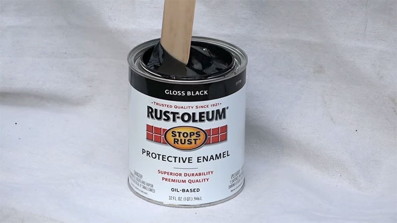 Mix the product with a paint stirrer