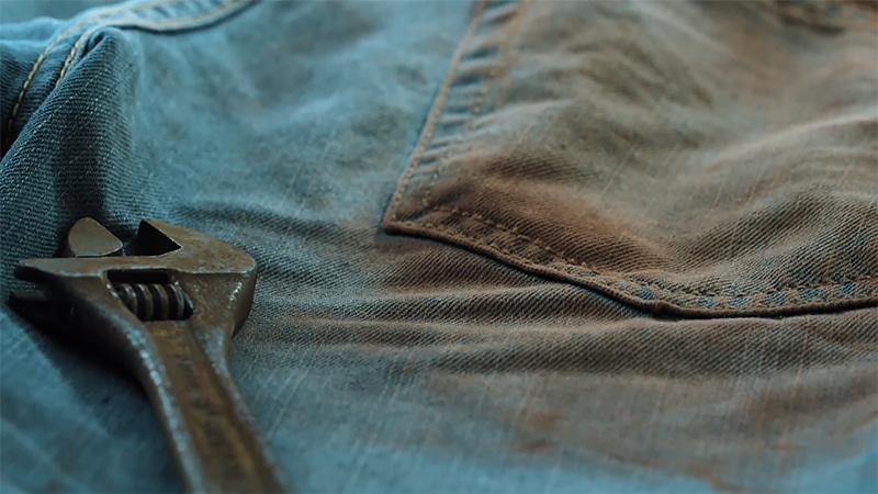 How to get rust out of clothes - Tutorial