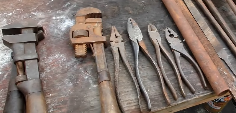 Wrapping Up How to remove rust from tools – Tutorial