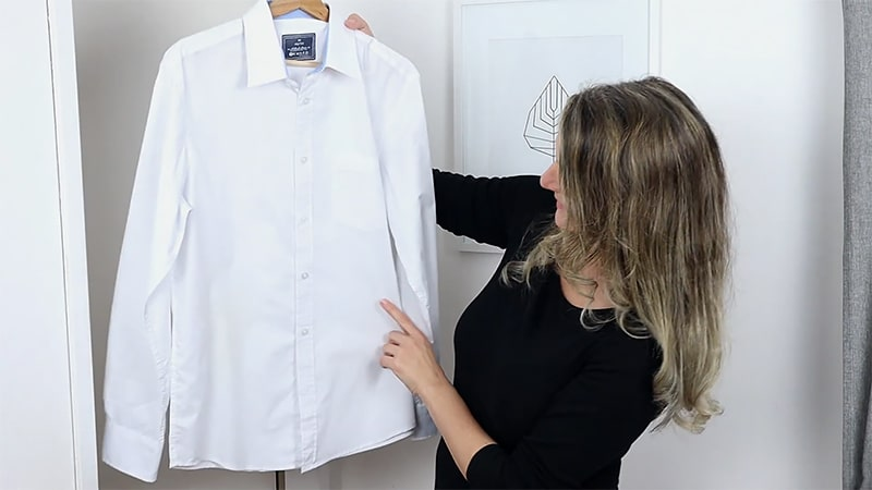 Launder Rust Stains from White Clothing