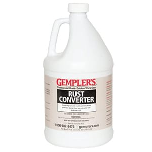 GEMPLER'S Eco-Friendly Rust Converter and Primer - 1 Gallon Size
