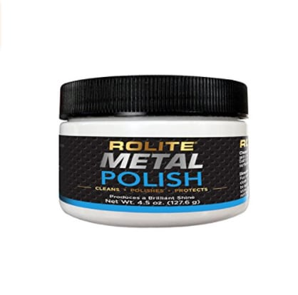Rolite - RMP45z Metal Polish Paste Scratch Remover and Cleaner