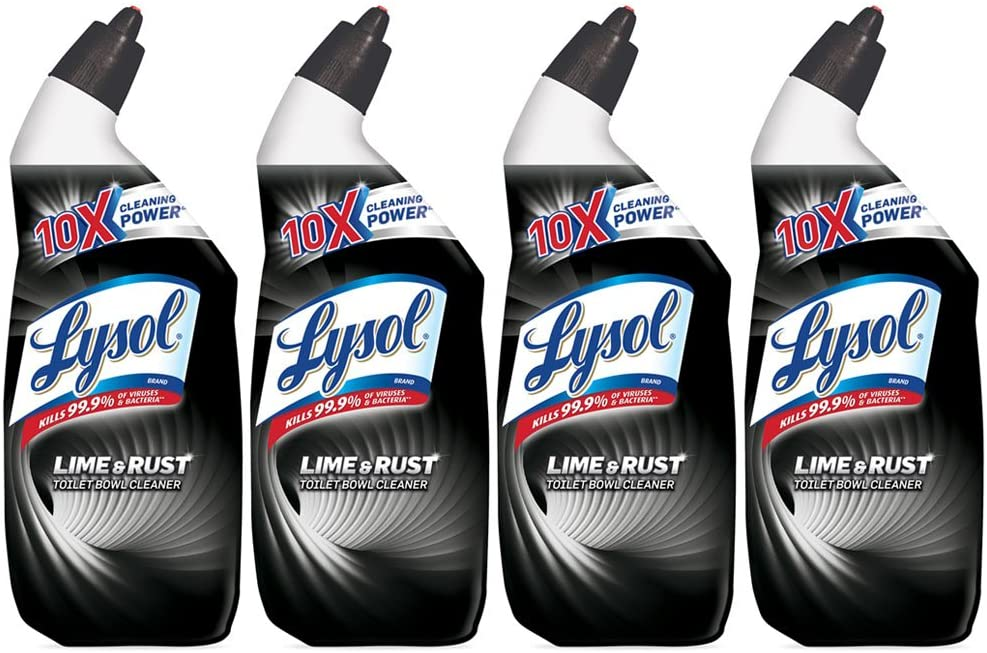 Lysol Toilet Bowl Cleaner with Lime and Rust Remover
